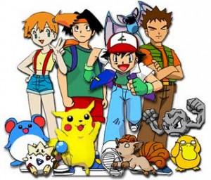 desenhos anos 90 pokemon
