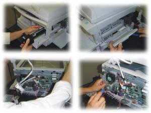 Manutenção de impressoras e recarga de cartuchos e toners
