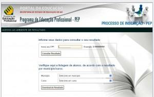PEP consulta